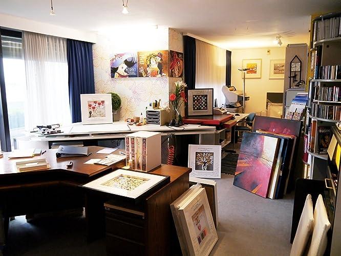 Kunst Ambiente graphiken kunst ambiente amazon de handmade