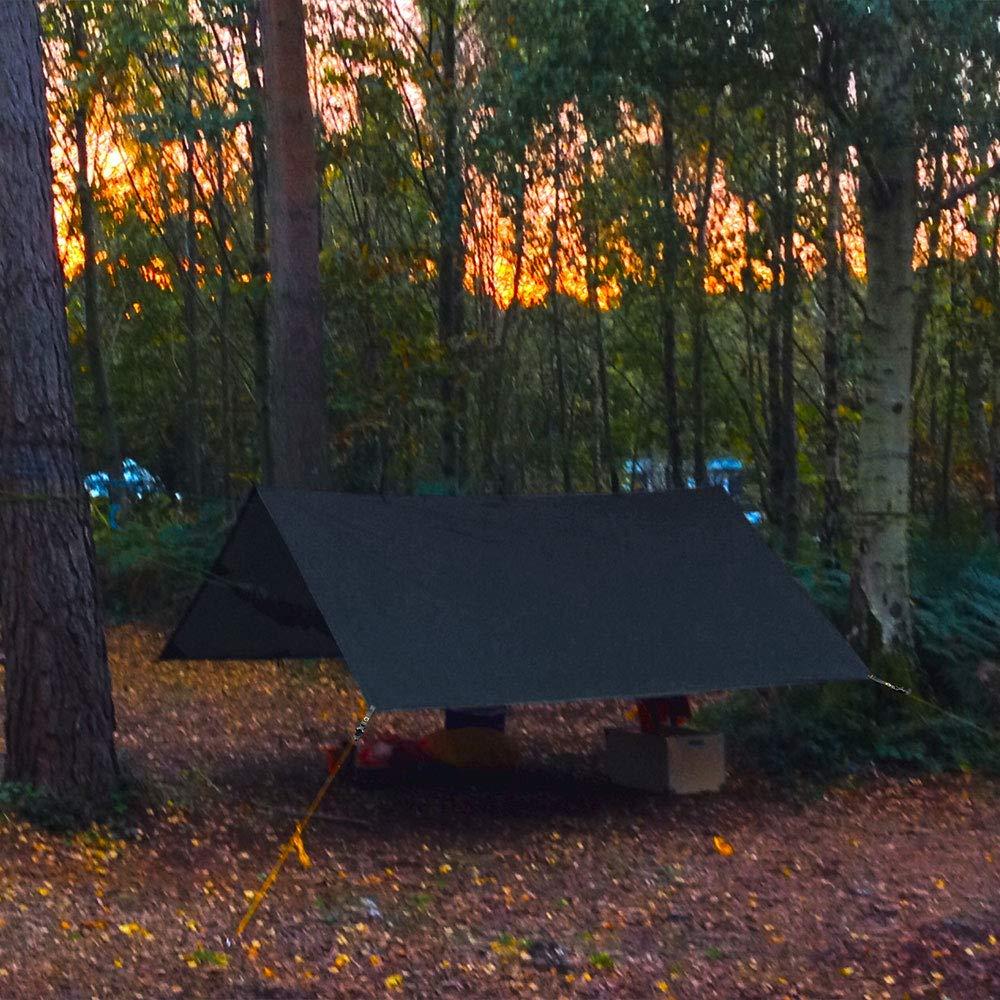 Bessport Tent Footprint 90.5x55in Waterproof Camping Tarp ...