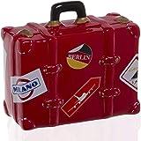 Cofre Bag Cerâmica, Etna, Vermelho, 13, 8cm