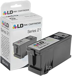 LD Compatible Cartridge Replacement for The Dell Y498D Series 21 (Black)