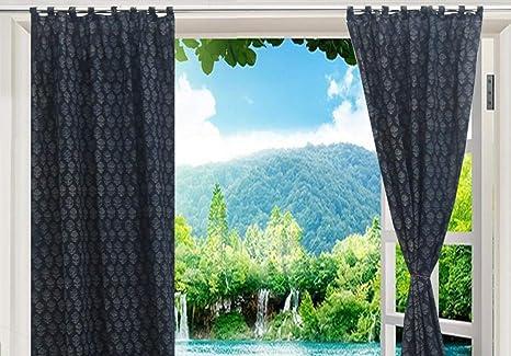 amazon com trade star indian curtain