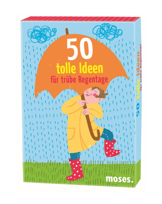 Moses 21046   50 Tolle Ideen Für Trübe Regentage, Spiel: Amazon.de:  Spielzeug