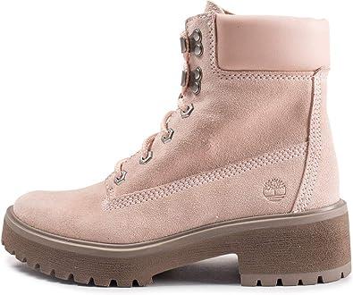 compromiso Recuento liberal  Timberland Carnaby Cool - Botines de 6 pulgadas, color rosa para mujer,  Rosa (rosa), 40 EU: Amazon.es: Zapatos y complementos