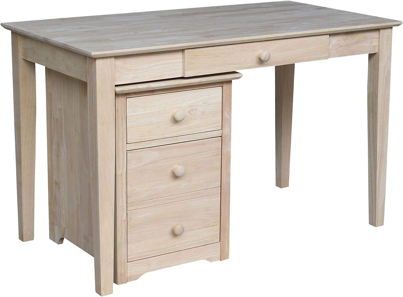 International Concepts Two Drawer OF-41 Desk File cabinet, Unfinished