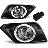 Awe Inspiring Amazon Com For Yaris Pair Of Bumper Driving Fog Lights Bezel Wiring Cloud Philuggs Outletorg