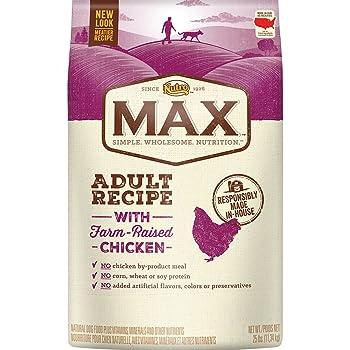 Nutro MAX Adult Dry Dog Food, Regular & Large Breed