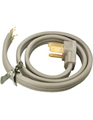 Coleman Cable 09014 4-Foot 50-Amp 3-Wire Range Power Cord