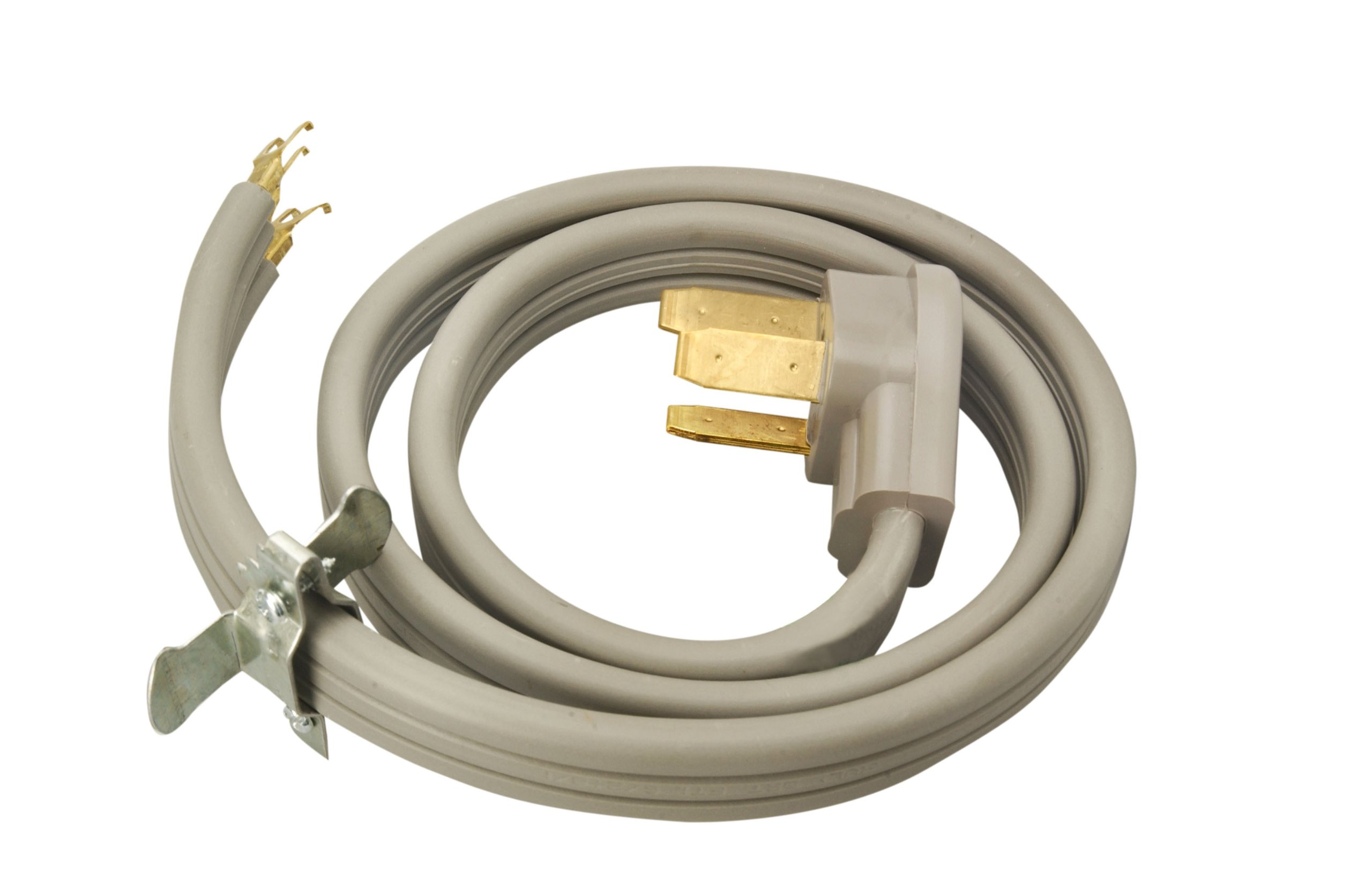 Coleman Cable 09014 50-Amp 3-Wire Range Power Cord, 4-Foot