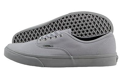 aeee6db045f2 Vans Unisex Authentic (Primary Mono) Frost Grey Skate Shoe (4.0 Men ...