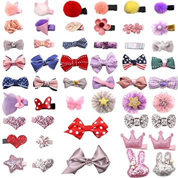 Unicorn Girl Baby Child Hair Accessories Snap Clips Fine Hair Accessories