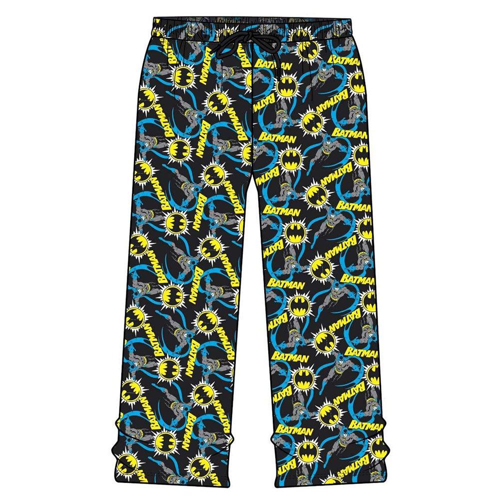 Boys & Mens Official Lounge Pants (Batman Originals, Large Adult L) Official Merchandise