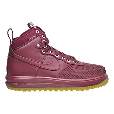 bc227f647ee9 Nike Lunar Force 1 Duckboot Men s Boots Team Red 805899-600 (7.5 D(