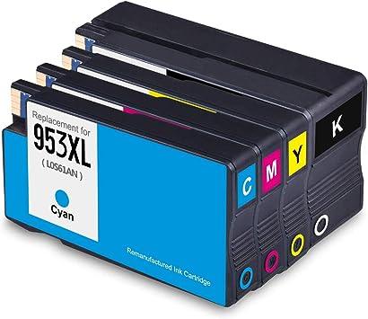 MyCartridge compatibles HP 953 XL 953XL cartuchos de tinta (último ...