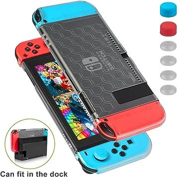 Funda para Nintendo Switch - Younik funda protectiva compatible con el dock resistente a rayones y ultra