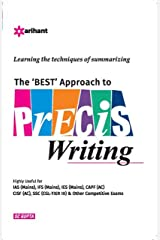 The Best Approach to Precis Writing Paperback