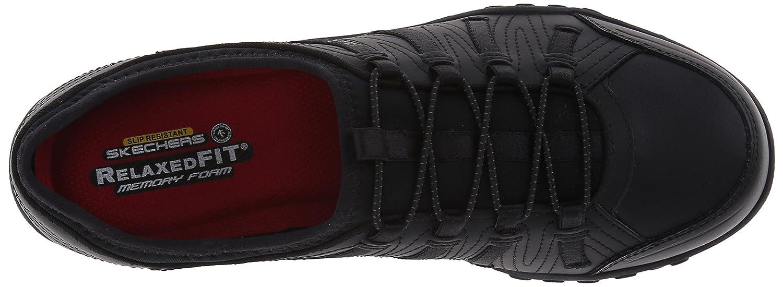 Skechers Work Woherren Bungee Slip Resistant Lace-Up 8 Turnschuhe, schwarz, 8 Lace-Up M US f87ccc