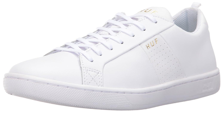HUF Men's Boyd Skateboarding Shoe 12 D(M) US|White