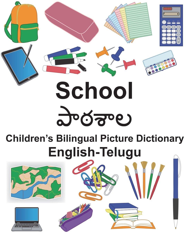Read Online English-Telugu School Children's Bilingual Picture Dictionary (FreeBilingualBooks.com) pdf