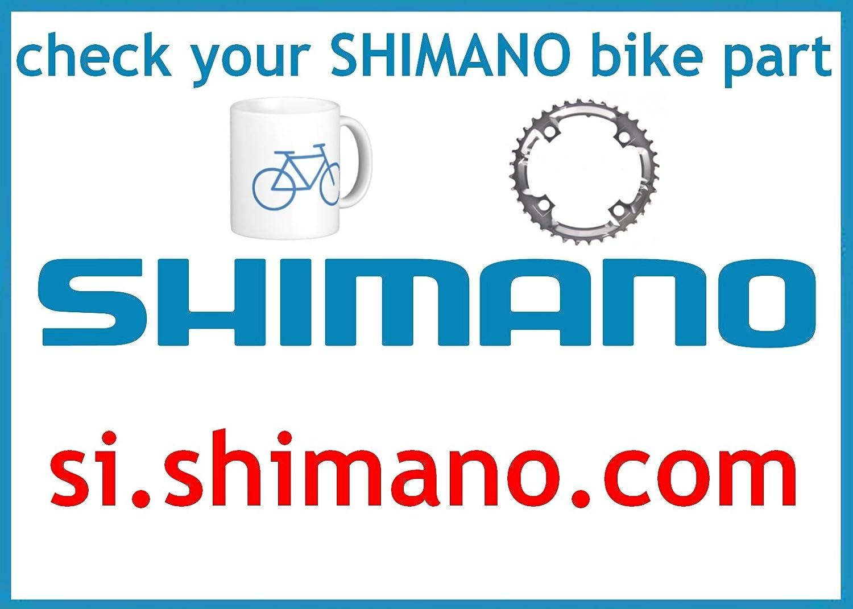 MANIVELLE SHIMANO DU DROIT 175 MM NOIR FC-M411 Y-1GL98040
