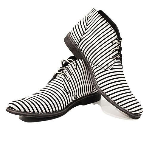Modello Zebra - Cuero Italiano Hecho A Mano Hombre Piel ...