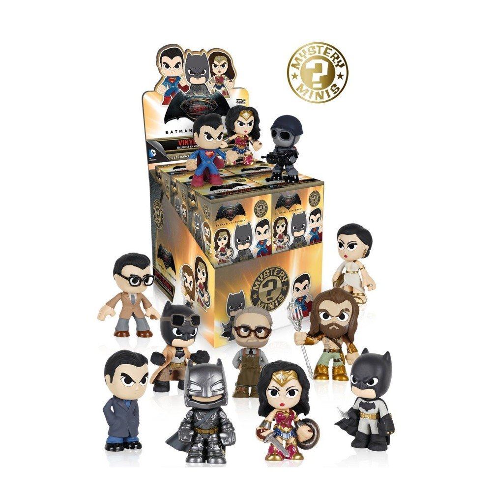 Batman vs Superman: Dawn of Justice Mystery Minis Display Figures Set of 12 by Batman v Superman