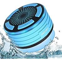 Altavoz Bluetooth Ducha Impermeable portátil inalámbrico con Luces