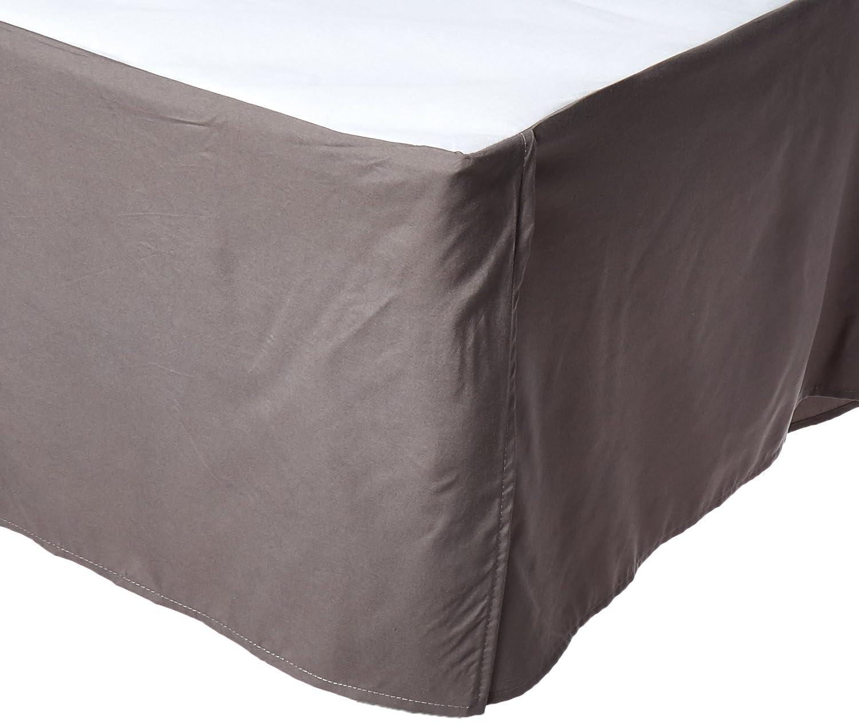 Pleated Tailored 14 Drop White Elegant Comfort Bed Skirt//Dust Ruffle California King