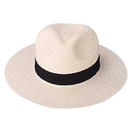 7ad1a61058a Straw floppy sun hat unisex beach sun hats uv protection foldable paper  weaved hats jpg 425x425