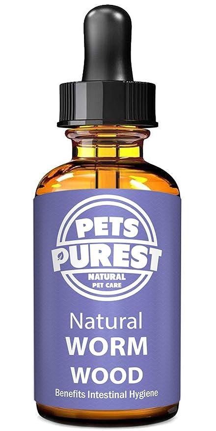 Pets Purest Desparasitante antiparasitario 100% natural para perros, gatos, aves, conejos y