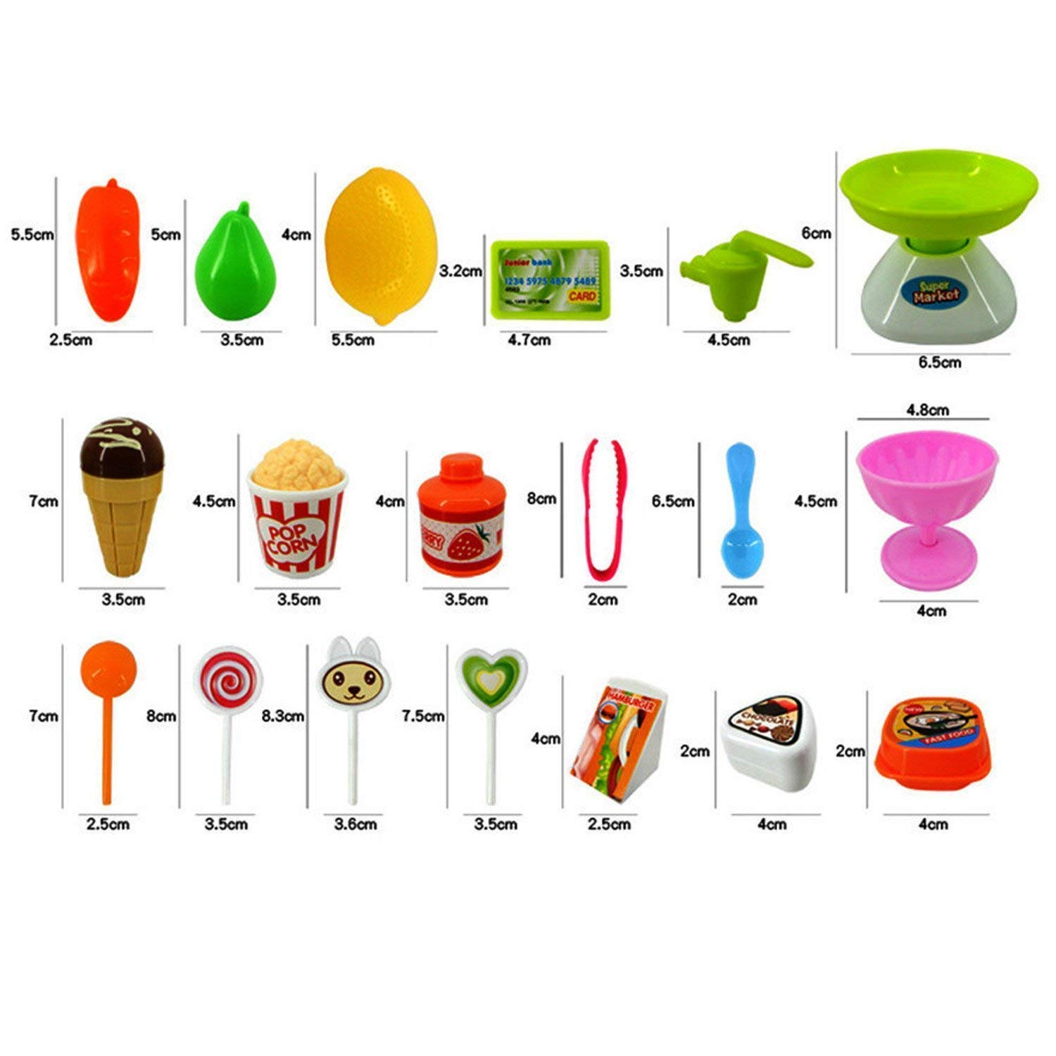 Buy Magnifico Sweet Super Mini Market Kitchen Set Toy For Kids 34 Four Kids39 Websites About Electricity Practice And Fun Piece Pink Online At Low Prices In India