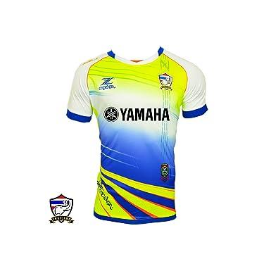 Thailand Cadenza Yamaha Football Shirt White Blue