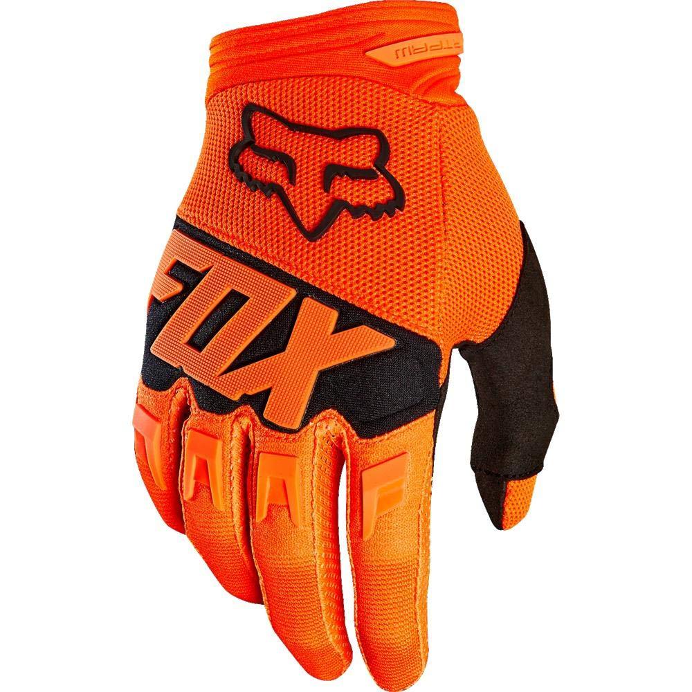 2019 Fox Racing Youth Dirtpaw Race Gloves-Light Grey-YS 22753-097-S