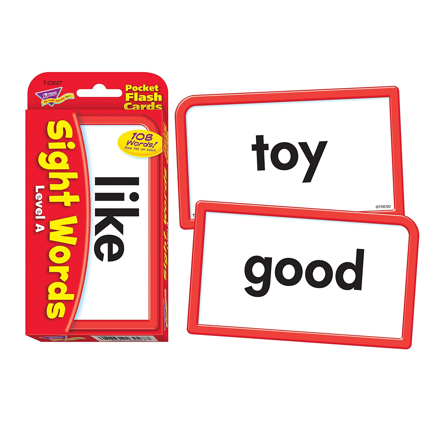 Worksheet Sight Word Flashcards amazon com sight words level a pocket flash cards toys games