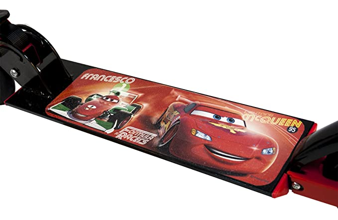Cars 808848 - Patinete 2 Ruedas para niño, Rojo: Amazon.es ...