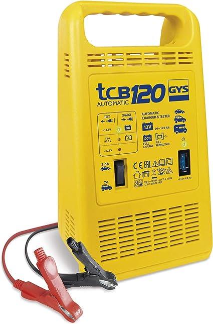 Gys TCB 120 Chargeur de Batterie Automatique avec testeur 12 V 023284