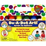 Do A Dot Art! Markers 6-Pack Rainbow Washable Paint Markers, The Original Dot Marker