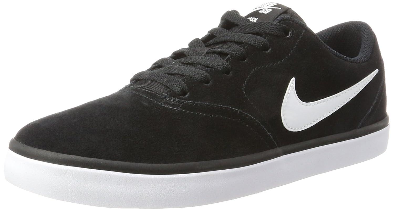 NIKE Men's SB Check Solar Skate Shoe B0178Q1Y1C 7.5 D(M) US|Black/White