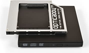 Opticaddy© SATA-3 HDD/SSD Caddy Universal 9.5mm SATA a ...