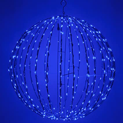 Amazon led light ball indoor outdoor christmas light balls led light ball indoor outdoor christmas light balls light spheres outdoor sphere aloadofball Image collections