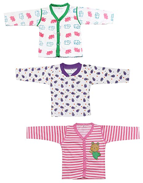 4cc999cf7 Babeezworld Baby Cotton Front Open Full Sleeves Long Sleeve Vest ...