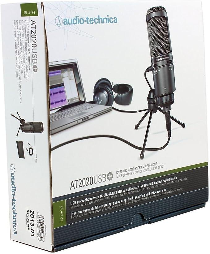 Computer USB Studio Kondensatormikrofon Cardioid PC Recording Mic mit Ständer