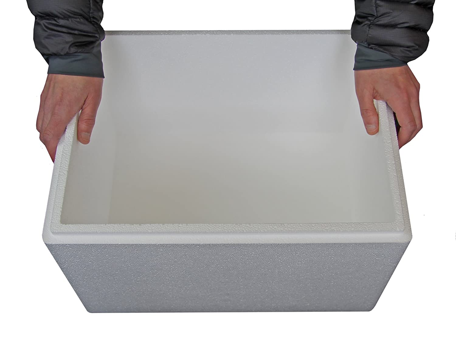 Amazon.com: 34 Ltr Polystyrene Box - Cool Box - Fish Box - QTY 6 by 34 Ltr Polystyrene Box - Cool Box - Fish Box - QTY 6: Home & Kitchen