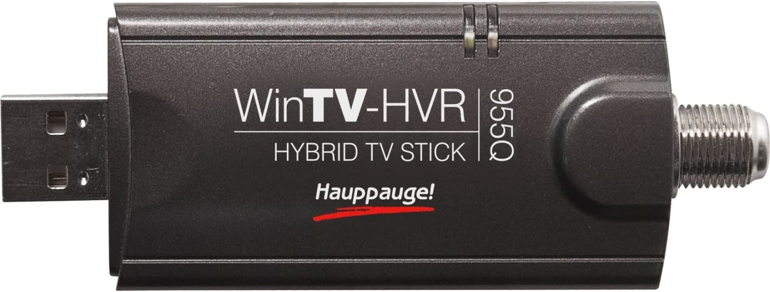 HAUPPAUGE wintv-hvr-950q usb stick atsc hd and ntsc tv qam with remote control