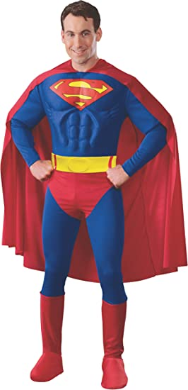 Superman - Disfraz de Superman para hombre, talla M: Amazon.es ...