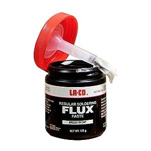 LA-CO FLUX 125GRM BRUSH IN CAP