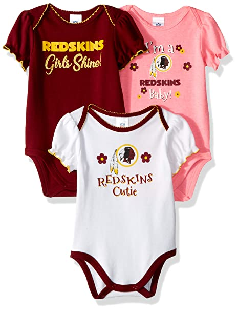 b7e712e03 Image Unavailable. Image not available for. Color  NFL Washington Redskins  Baby-Girls ...
