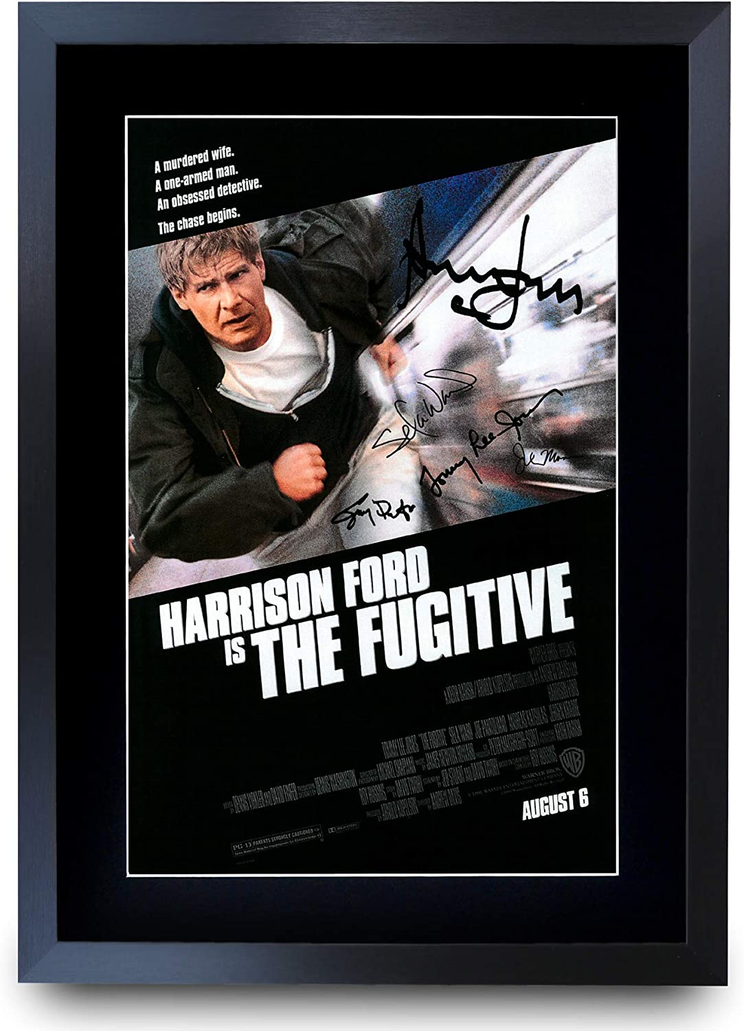 The Fugitive Classic Large Movie Poster Print