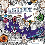 Zendoodle Coloring Presents Fairies in Dreamland: An Artist's Coloring
