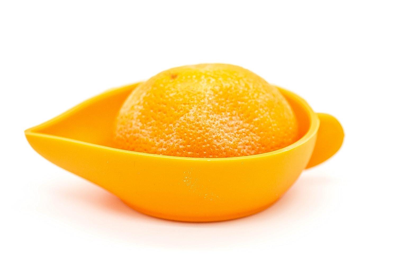 Exprimidor de Cocina Manual de Naranjas, Limones y Cítricos para Zumos Fabricado en Silicona de Grado Alimentario libre de toxinas, bordes redondeados, ...