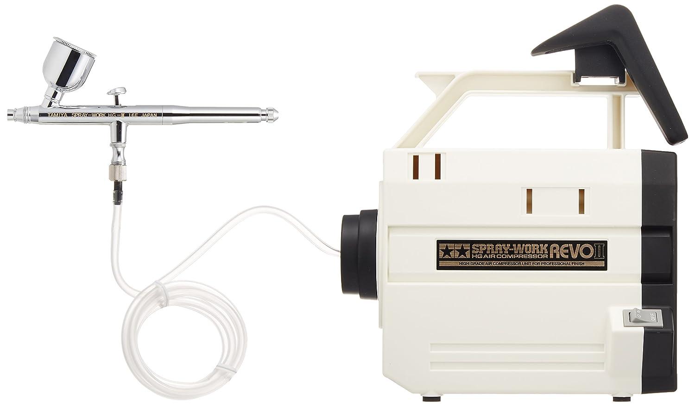 Tamiya Airbrush-System No.41 Spray Arbeits HG Kompressor Revo II (HG Airbrush mit III) 74 541